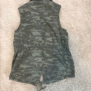 Maurices Jackets & Coats - Maurices camo vest.